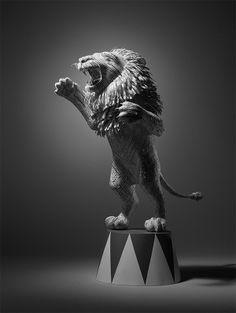 """CJWHO ™ (Paper Lion Constr"" in _Art"