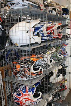 Off road motorcycle helmets at Custom Lids | Flickr - Photo Sharing!
