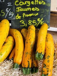 Courgettes jaunes de Provence