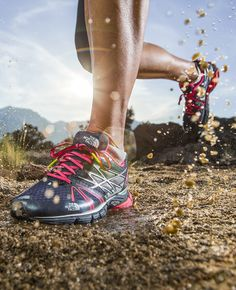 """""""And then, one day, I noticed that I wasn't noticing my shoes."""" Team ultrarunner Ashley Arnold shares that """"a-ha!"""" moment when she found the perfect running shoe and tips on how to find yours. Pictured: Ultra Equity"""
