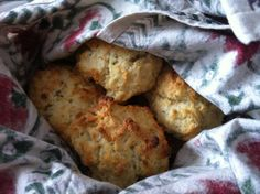Parmesan Sage Biscuits