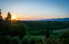 Beautiful sunset in Lari, Tuscany, Italy. Taken by Lily Angiolini of Miss Lily Photography summer of 2018.   #tuscany #italy #sunset #misslilyphotography