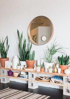 home decor plants 25 Bohemian Home Deco - Green Interior Design, Interior Plants, Diy Interior, Scandinavian Interior, Interior Architecture, Sweet Home, Diy Casa, Easy Home Decor, Home And Deco