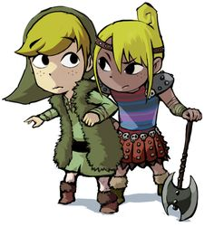 Tetra and Link/How to Train Your Dragon