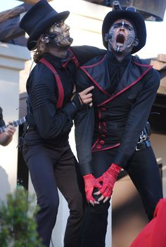 "Steam Powered Giraffe's ""The Jon"" and ""Rabbit"" performing  Rex Marksley."