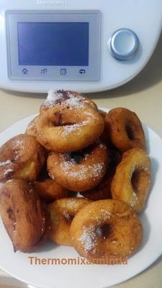 Recetas para tu Thermomix - desde Canarias: Rosquillas de anís Sweet Recipes, Cake Recipes, Sweet Cooking, Thermomix Desserts, Desert Recipes, Pretzel Bites, Junk Food, Sweet Tooth, Bread