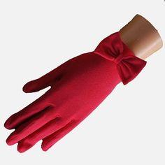 Cornelia James | Short Cotton Glove with bow