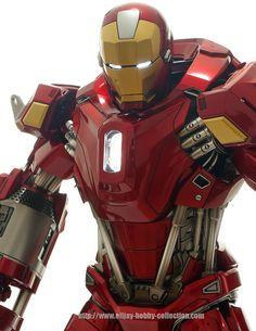 (Yeah, it's not a mech...) SUPREME MECHA - GUNPLAVN: [ Review ] - Hot Toys - 1/6 Power Pose - Ironman Mark XXXV Red Snapper Marvel Dc Comics, Marvel Heroes, Marvel Characters, Hot Toys Iron Man, Iron Man Art, Combat Armor, Iron Man Wallpaper, Avengers Art, Red Snapper