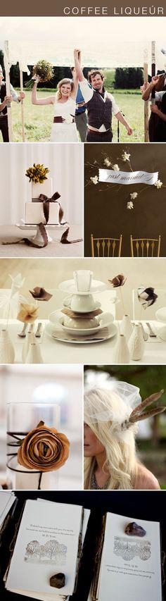 coffee liqueur (fall wedding color)