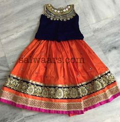 Mirror Work Lehenga - Indian Dresses