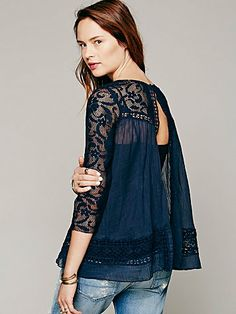 Free People Golden Age Top