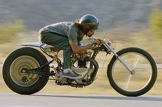 a different kind of cafe racer - Is this SHINYA KIMURA of Zero Engineering?