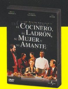 El cocinero, el ladrón, su mujer y su amante [Recurso electrónico] = [The cook, the thief, his wife and her lover]/ de Peter Greenaway