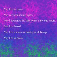 Buddhist Blessing ~ Metta