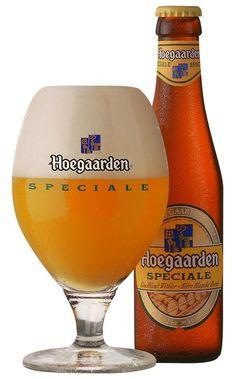 Hoegaarden Spéciale, Witbier, produced by Brouwerij Hoegaarden, Bélgium. More Beer, All Beer, Wine And Beer, Beer Brewing, Home Brewing, British Beer, Alcoholic Drinks, Cocktails, Premium Beer