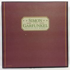 Simon & Garfunkel Collected Works 6 LP Vinyl Record Box Set Very Rare C5X 37587