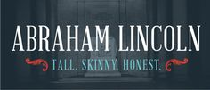 Digging the new Abraham Lincoln font