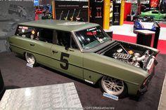 Chevy II Nova wagon at #SEMA 2012