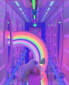 more aesthetics : neon moodboard pink aesthetics blue aesthetics cybergetto night purple color ae and other Rainbow Aesthetic, Purple Aesthetic, Retro Aesthetic, Aesthetic Images, Aesthetic Wallpapers, Neon Purple, Rainbow Unicorn, Dream Rooms, Vaporwave