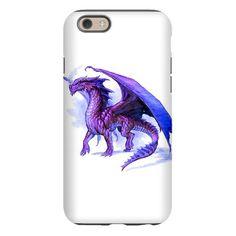 Purple Dragon iPhone 6 Tough Case on CafePress.com
