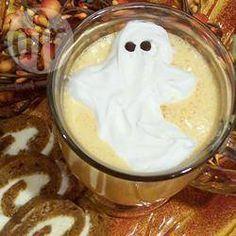 Foto recept: Spookachtige milkshake voor Halloween