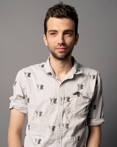 Portraits by Henny Garfunkel - Jay Baruchel of 'The Art Of The Steal' from #InStyle