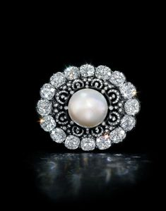 http://rubies.work/0054-clearance-sale/ The Putilov Pearl. A mid-19th century exceptional natural pearl and diamond brooch