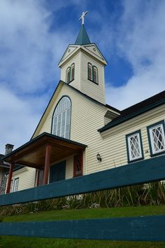German Lutheran Church in Frutillar Chile