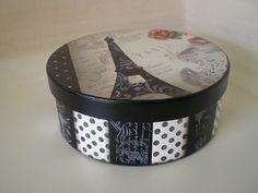 caixa redonda Paris