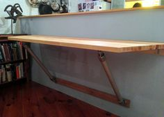 Butch Block Wall Mounted Table                                                                                                                                                                                 More