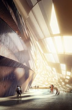 Sunlight inside the lobby (Image: MIR) #architecture ☮k☮