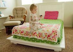 Cute Girl Bed | 14 DIY Platform Beds