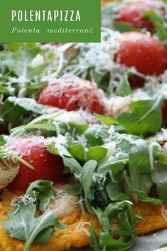 Lust auf Polenta – Teil Polenta mediterrané á la Mosauerin Polenta Pizza, Tacos, Mexican, Ethnic Recipes, Food, Polenta Recipes, Simple, Food Food, Essen