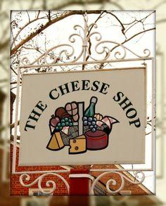 The Cheese Shop at Merchants Square, Williamsburg, Virginia.   YUM!