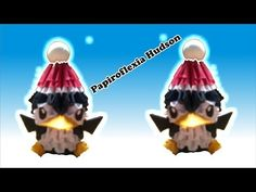 Origami 3D Pinguinito o Pinguinito Navideño (Especial Navideño) - YouTube Origami Modular, Origami 3d, Origami Ideas, Quilling Art, Kirigami, Nespresso, Free Pattern, Paper Crafts, Christmas Ornaments