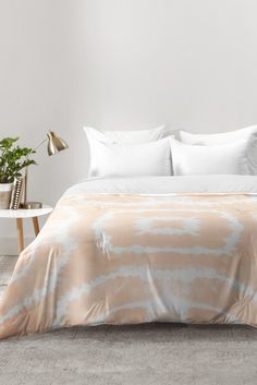 Monika Strigel WILD AND FREE URBAN CORAL Comforter | DENY Designs Home Accessories