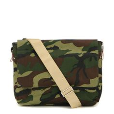 Danzo Diaper Messenger Bag, Camo.