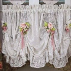 Image result for shabby chic curtains