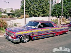 Nostalgia on Wheels: Low Riders in the Late 70's radical paintjob lowrider magazine