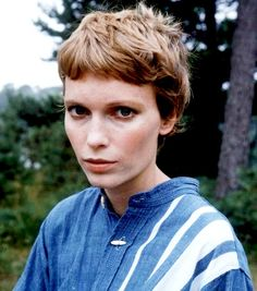 Mia Farrow showed women of the 60's that you didn't HAVE to have long, long hair to be beautiful.