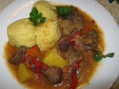 Tocanita de manzat la Philips Multicooker Rice Cooker Recipes, Multicooker, Ketchup, Pot Roast, Risotto, Slow Cooker, Beef, Ethnic Recipes, Food