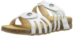 Haflinger Womens TS Paris Dress SandalWhite38 EU7 M US -- Continue to the product at the image link.(This is an Amazon affiliate link and I receive a commission for the sales)