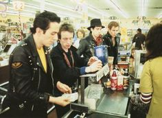 Is This The Real Life, Is This Just Fantasy... — caesarthemusicsnob:   The Clash at the supermarket
