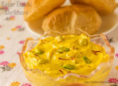 Kesar Elaichi Shrikhand is best enjoyed with hot pooris. Prepare this dessert on the first day of the New Year and provide a sweet beginning to the year.
