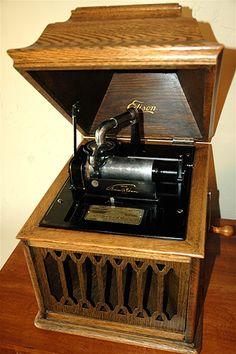 1914 Edison  Amberola B-VIII  Phonograph