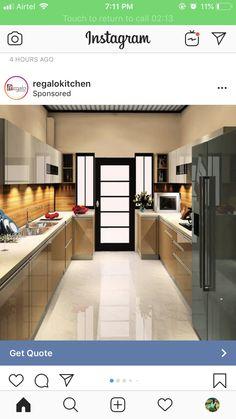 Kitchen Trolley Design, Kitchen Cupboard Designs, Kitchen Room Design, Diy Kitchen Storage, Modern Kitchen Design, Interior Design Kitchen, Kitchen Decor, Kitchen Shelf Inspiration, Kitchen Ideas