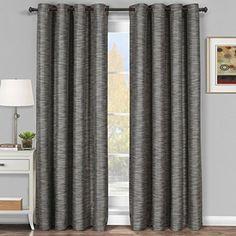Galleria Gray-Silver Grommet Blackout Window Curtain Pane... https://www.amazon.com/dp/B00KD2NGK6/ref=cm_sw_r_pi_dp_c5hxxb4GZX8CR