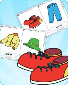 Learn clothing vocabulary with this silly clothing song. Download free clothing flashcards too!