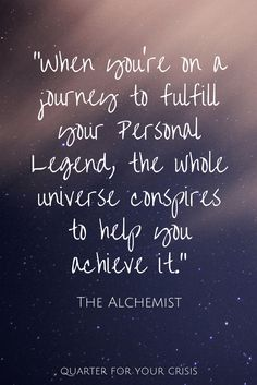 personal legend the alchemist essay The alchemist (coelho): essay q&a, free study guides and book notes including comprehensive chapter analysis, complete summary analysis, author biography information santiago is able to prioritize discovery of his own personal legend over all else.