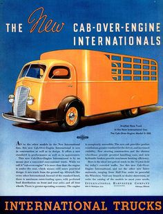 International trucks - Cab over engine by killingtime2, via Flickr